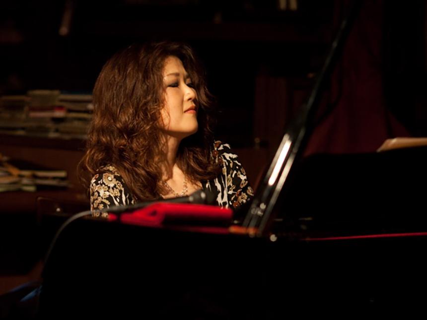 生田 さち子(piano)  西川 サトシ(bs)  マーシャル大木(dr)
